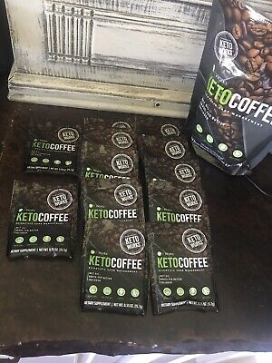 $24.50 • Buy Keto Coffee It Works 12 Pouches In Bag.