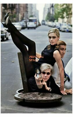 $20 • Buy ANDY WARHOL Hollywood Celebrity Poster TV Movie Poster 24 In By 36 In D