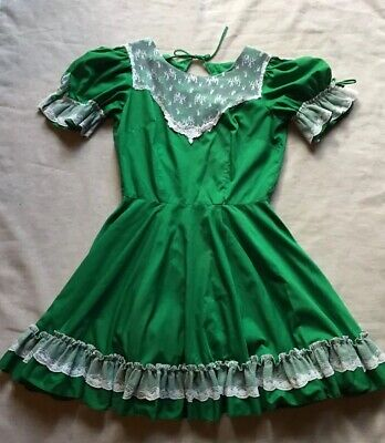 $42.95 • Buy Partners Please Malco Modes Lace Rockabilly Square Dance Dress Vintage 12