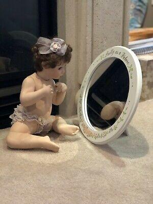 $ CDN40 • Buy Baby Porcelain Doll And Mirror