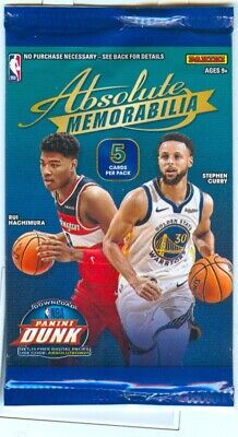 $12 • Buy Panini Absolute 2019-20 ZION WILLIAMSON ROOKIE # 16  HOT PACK
