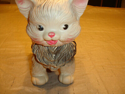 $22 • Buy Cat Toy, Rubber Plastic, Edward Mobley Co 1960, Fair Condition.