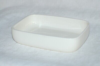 $9.99 • Buy Vintage Haeger 3832 White Pottery Planter Dish  - Measures Approx. 9  X 6  X 2
