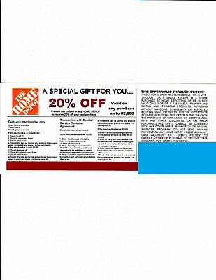 $15 • Buy ***4**20%*** OFF HOME DEPOT Competitors Coupon At Lowe's Exp 07/31/20