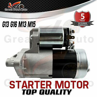 AU85.10 • Buy Starter Motor Unit Set For Suzuki Vitara G13B 1.3L G16A 1.6L M3T34781 M3T38981