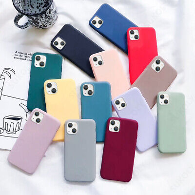 AU1.10 • Buy Candy Silicone Pure Soft Case Cover For IPhone 11 Pro Max XR XS X 7 8 6S SE 2020