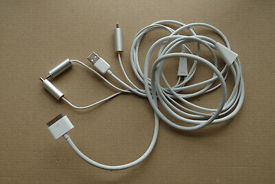 Composite RCA Cable AV Video To TV USB Charger For IPod IPad2 3 IPhone 4 4S  • 9.99£