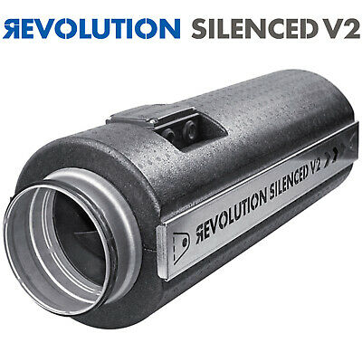 Revolution Stratos New V2 Pro Silenced Fans High Powered Output Flow AC Isomax • 328.98£