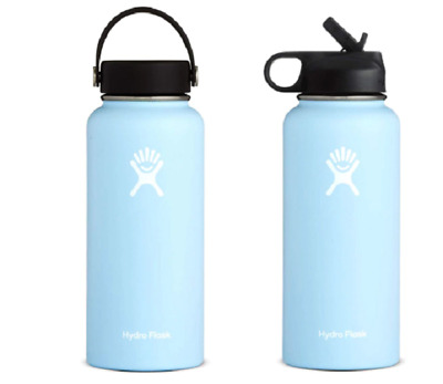 $27 • Buy Frost Hydro Flask Stainless Steel Water Bottle Insulated Wide Flex & Wide Straw
