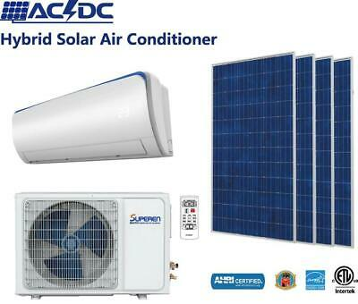 AU2300 • Buy Superen AC DC Hybrid Solar 5.0kW Reverse Cycle Split System Air Conditioner