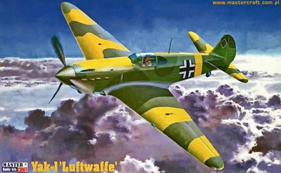 MasterCraft 002183 1/72 Yak-1  Luftwaffe  Plastic Kit • 6.45£
