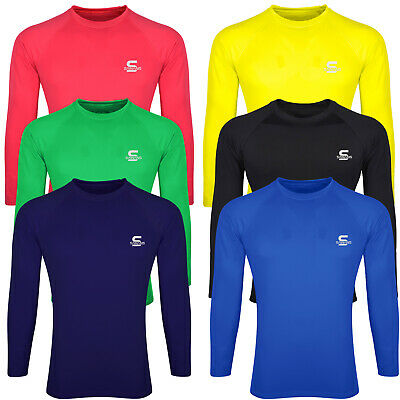 SAWANS® Base Layer Top Body Armour Compression Under Shirts Skins Gym Fit Sports • 9.99£