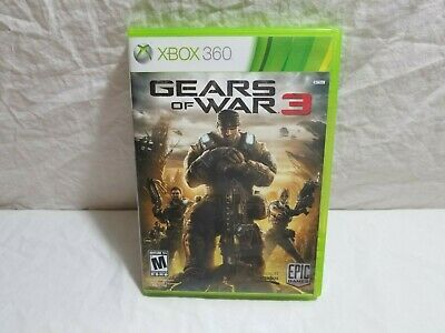$8.49 • Buy Gears Of War 3 - Xbox 360 Game Complete
