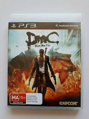 AU10.50 • Buy DmC Devil May Cry  PS3   -  Sony PlayStation 3 Game