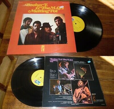 Booker T & The MG's – Melting Pot LP ORG French Press Stax Soul Funk 71' • 15.51£