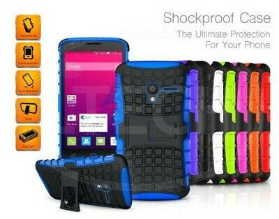 AU14.11 • Buy Motorola Moto E4 Plus (5.5 ) 2017 - Rugged Grip Builder Shockproof Tough Case