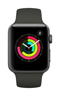 $ CDN124.89 • Buy Apple Watch Series 3 (GPS) 42mm Space Gray Aluminum Case Black Sport Band