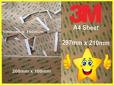 3M Double Sided Sticky Adhesive Sheet Pad Tape Touch Screen Phone Repair • 3.45£