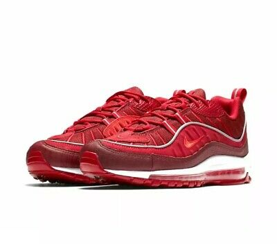 $12.50 • Buy Nike Air Max 98 Se Team Red / Habanero Red Men's Size 8.5 (ao9380-600)