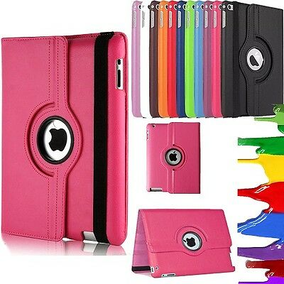 £3.99 • Buy 360 Rotating Smart PU Leather Stand Case Cover For APPLE IPad 10.2 2019/2020⭐