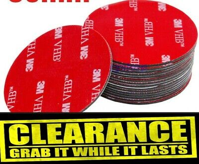 3M Strong Double Sided Sticky Foam Pads Mounting Round Glue Strip 50mm 30mm • 4.95£