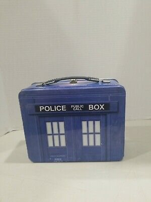 £7.31 • Buy Doctor Who Police Public Call Box Lunch Pal