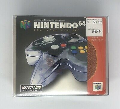 AU129.99 • Buy Sharkpad Pro 64 Controller -  Nintendo 64 -  Boxed -  N64 Officially Licensed