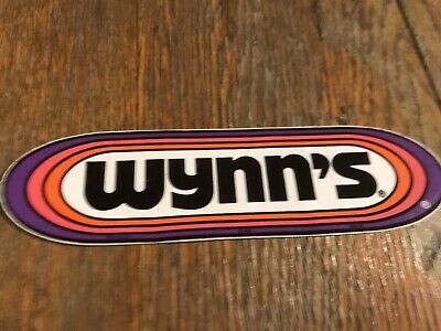 AU10 • Buy Original 80s Wynn's Sticker