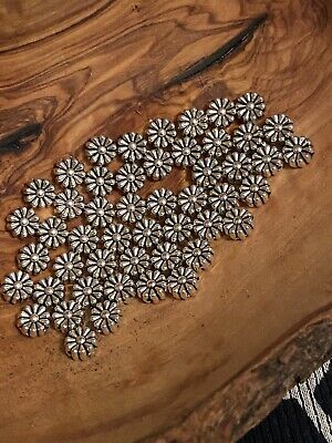 $ CDN2.63 • Buy Lots 50 Silver Plated Loose Spacer Beads Charms Crafts Jewelry Making