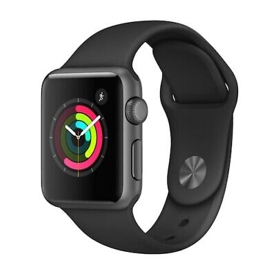 $ CDN120.88 • Buy Apple Watch Series 1 38mm Space Gray Aluminum Case With Black Band