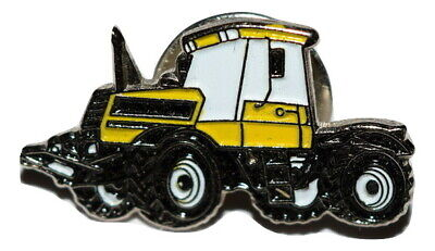 Yellow Tractor Pin Badge Fastrac Novelty Detailed Enamel Pin Farming Farming • 2.69£
