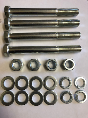 Fordson Major Tractor Wing Fender Bolts/Nuts/Washers X 4 (9.1/2  Long) • 19.99£