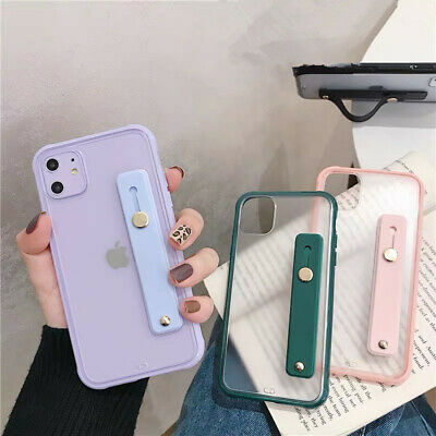 AU4.69 • Buy Shockproof Silicone Hand Strap Soft Case Cover For IPhone 11 Pro Max XS XR X 7 8