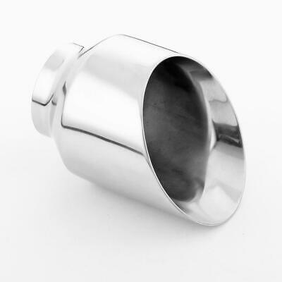 $ CDN75.11 • Buy Angle Cut Dual Wall 5  Out Exhaust Tip 3  Inlet 304 Stainless Steel Exhaust Tip
