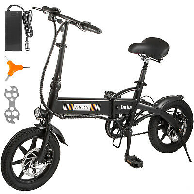 $357.94 • Buy 14  250W 36V Electric Bicycle Folding Ebike Bike Lithium Battery Powered