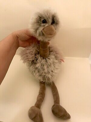 $15 • Buy Ostrich Stuffed Plush 19.5 Inch Tan.  New With Tags.  Collectible Animal