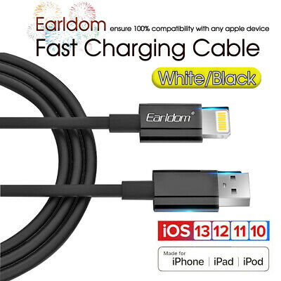 AU3.99 • Buy Fast Charging  Data Charger Cable Apple IPhone XR XS Max X 7 8 6 S IPad