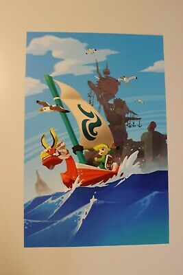 $10.99 • Buy The Legend Of Zelda Wind Waker Poster 12x18