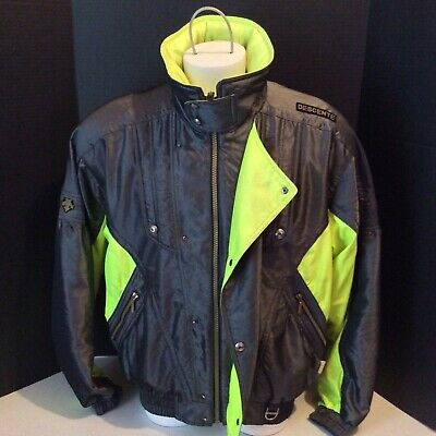$59.99 • Buy Descente Vtg Mens Full Zip Ski Jacket Sz Large W/hoodie Neon DESCENTE WINTER VTG