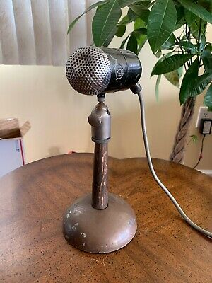$230 • Buy Vintage 1940's RCA 88-A MI-4048-E Bullet Harp Pill Dynamic Broadcast Microphone