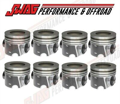 $985.65 • Buy Mahle Piston Set (8) 0.75MM Over-Ceramic Coated For Ford 6.4L Diesel
