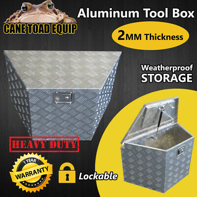 AU175.95 • Buy Aluminium Tool Box Trailer UTE Truck Tool Storage W Lock Heavy Duty Vehicle Draw