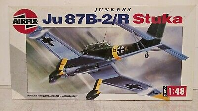 $29.95 • Buy Vintage Airfix 1/48 Scale Junkers Ju 87b-2/r Stuka Plastic Model Kit