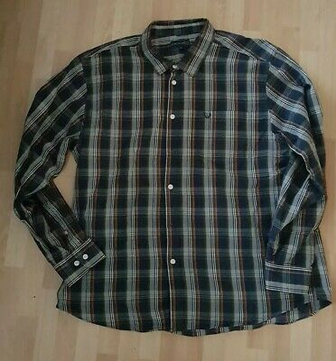 Mens Size XL Extra Large Check Shirt Lincoln Cotton Long Sleeve  • 8£