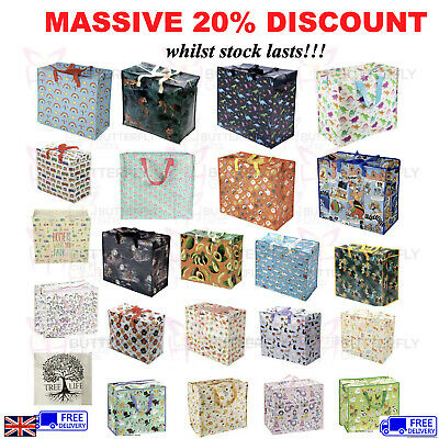 Extra Large Jumbo Laundry Shopping Bag Childrens Toy Storage Reusable Bags  • 5.95£