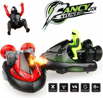 Kids RC Battle Bumper Cars, Set Of 2 Stunt Remote Control VS Vehicles Toy • 23.99£