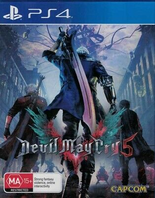 AU34.95 • Buy Devil May Cry V, Playstation 4 Game, USED