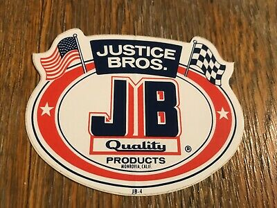 AU10 • Buy Original 80s Justice Bros Sticker