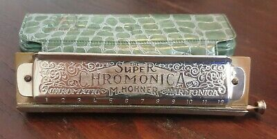 $60 • Buy The Super Chromonica By M. Hohner Made In Germany