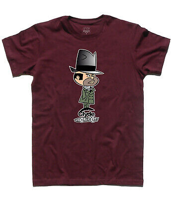 Men's T-Shirt Clyde And La His Band The Ant Hill Mob N.7 Wacky Races Muttley • 18.54£